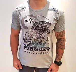 camiseta  space arts modelo  REBELDE - tamanho - G - algodão - cor cinza