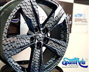 pelicula para water transfer printing modelo LADRILHOS   tamanho 1mts x 50cm de largura