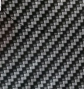 pelicula para pintura hidrografica modelo CARBONO DUPLO - TAMANHO 1 MTS DE COMPRIMENTO  X 50 CMTS LARGURA