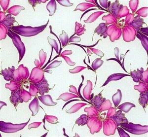 pelicula para water transfer printing modelo  floral rosas pequeno tamanho 1mts x 50cm de largura