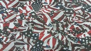 pelicula para water transfer printing modelo  bandeira americana flamada tamanho 1mts x 50 cm de largura