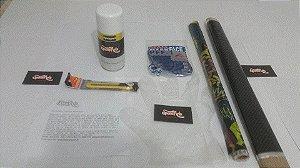 Kit iniciante water transfer printing - ativador em spray - itens do kit na descrição do produto