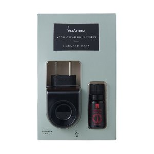 Aromatizador Standard Black com Essência 10ml - Londres, Jasmim Real