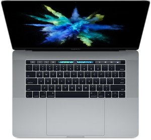 "MacBook Pro 15"" Space Gray Touch Bar/ID - i7 2.8Ghz / 16GB Ram / 256GB SSD - Modelo MPTR2LL (2017)"