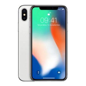 Iphone X Prata 64GB