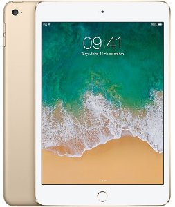 iPad Mini 4 Dourado 128GB Wi-Fi