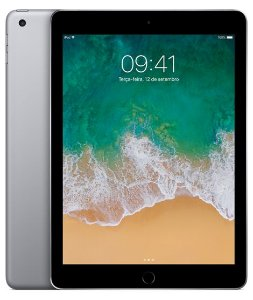 New iPad Cinza Espacial 128GB Wi-Fi