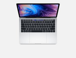 "MacBook Pro 13"" Silver Touch Bar/ID - i5 2.3Ghz / 8GB Ram / 256GB SSD - Modelo MR9U2LL/A (2018)"