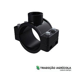 """COLAR DE TOMADA 75MM X 1"""" (4 PARAFUSOS)"""