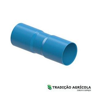LUVA PVC SOLD. 100MM PN80