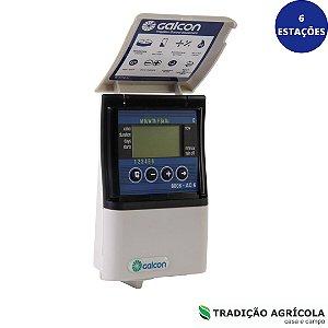 CONTROLADOR DIGITAL GALCON AC 6S SUPER (6 ESTAÇÕES)