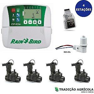 KIT AUTOMAÇÃO - 04 ESTAÇÕES C/ COMANDO WIFI