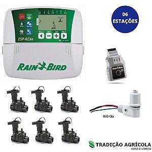 KIT AUTOMAÇÃO - 06 ESTAÇÕES C/ COMANDO WIFI