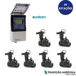 KIT AUTOMAÇÃO - 06 ESTAÇÕES  - GALCON 6S