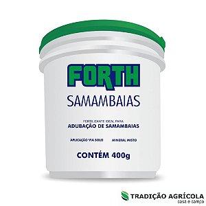 FERTILIZANTES PARA PLANTAS - FORTH SAMAMBAIA 400g