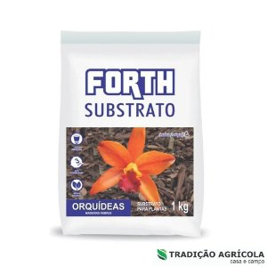 FERTILIZANTES PARA PLANTAS - FORTH SUBSTRATO ORQIDEAS FD 1Kg