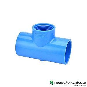 """DUPLICADO - TE PVC LF 35MM x 1"""""""
