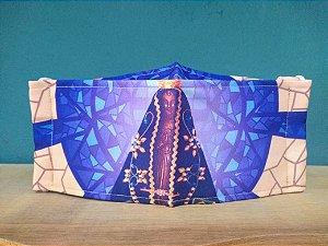 Máscara Personalizada Nossa Senhora Aparecida