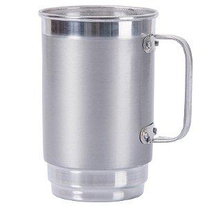 Caneca De Chopp De Alumínio (valor já com a personalização)