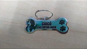 Plaquinha de Identificação Personalizada de Pets