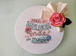 Capa De Sousplat Personalizada para o dia das Mães