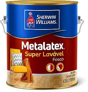 Metalatex Super Lavável Acrílico Fosco Branco