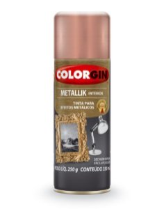 Spray Metallik Rose Gold 350ml