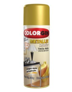 Spray Metallik Dourado 350ml
