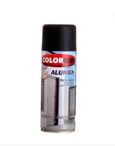 Spray Alumen Preto Fosco 350ml