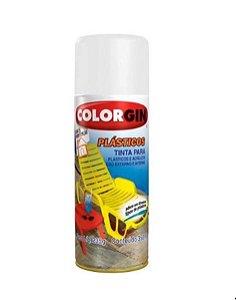 Spray plástico Branco