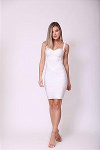 Vestido Curto Bruna Branco