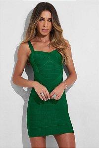 Vestido Curto Bruna Verde