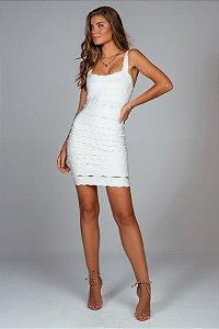 Vestido Curto Hellen Branco