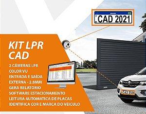 Kit Estacionamento LPR CAD
