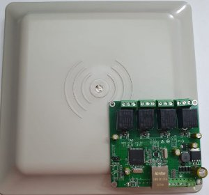 Antena de Tag veicular CAD
