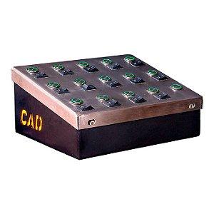 Caixa de Comando com Trava - CAD Controle de Acesso Digital