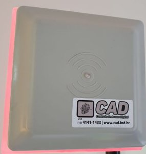 Antena de TAG Veicular CAD com LED Indicativo