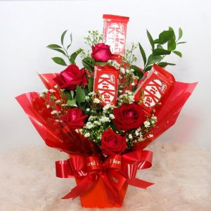 Cachepô Rosas Marcantes