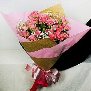 Buquê de Mini Rosas