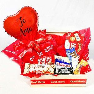 Baú Coração de Chocolate