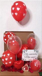 Caixa Surpresa Mix de Balões