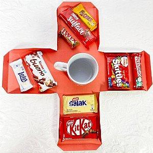 Caixa Explosiva Amante de Chocolate