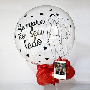 Balão silhueta
