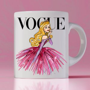 Caneca Vogue Princess Aurora