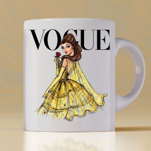 Caneca Vogue Princess Bela