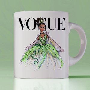 Caneca Vogue Princess Tiana