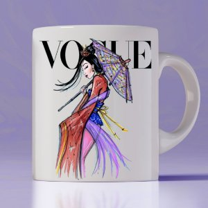 Caneca Vogue Princess Mulan