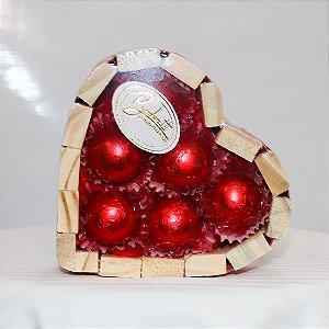Coração de chocolate PP
