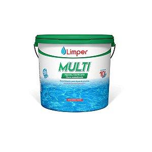 Cloro Granulado Limper Multi 3 Em 1  / 10kg
