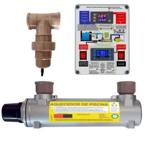 Aquecedor de Piscinas Hidrohot Ionizador 60m³ até 60.000Lts